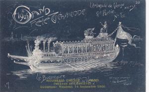 Ville de GAND, Fete Venitienne du 9 Juillet 1905 ; Belgium ; Le Bucentaure Grand