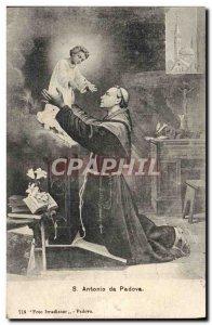 Old Postcard S Antonio da Padova