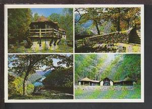 Hawks Nest State Park Ansted W VA Postcard BIN
