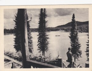 Le LAC HORATIO WALKER, Laurentides , Quebec, Canada, 1930s