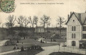 CPA LIANCOURT - Sanatorium d'ANGICOURT - Le Jardin (130556)