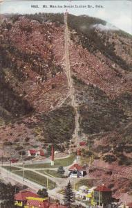 Colorado Mount Manitou Scenic Incline Railway
