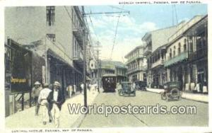 Panama Republic of Panama Central Ave