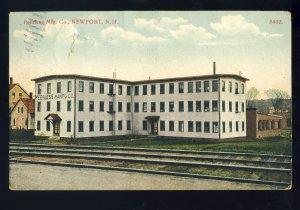 Newport, New Hampshire/NH Postcard, Peerless Manufacturing Company*, 190