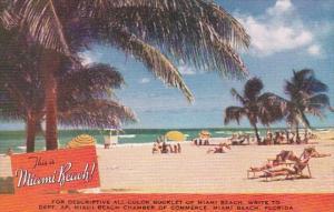Florida Miami Beach America's Year 'Round Playground