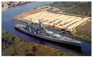 U.S.S. North Carolina Battleship