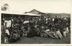 indonesia, SUMATRA, Native Batak Women at the Market (1920s) RPPC Postcard (3)