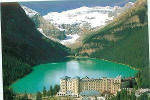 Old Vintage Postcards Mt Victoria Lake Louise Canada # 2040A