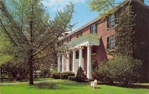 Harrodsburg Kentucky~Beaumont Inn Hotel~Pool~Shuffleboard~1960s Postcard