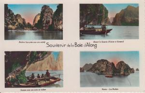 CPA Vietnam Indochine TONKIN - Souvenir de la Baie d'Along (62619)
