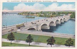 Hartford Bridge And Boulevard Hartford Connecticut