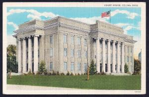Court House Celina Ohio unused c1920's