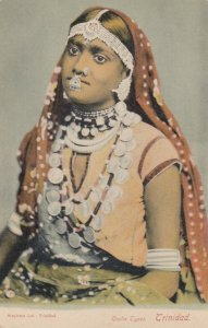 TRINIDAD, B.W.I. 00-10s ; Coolie Girl