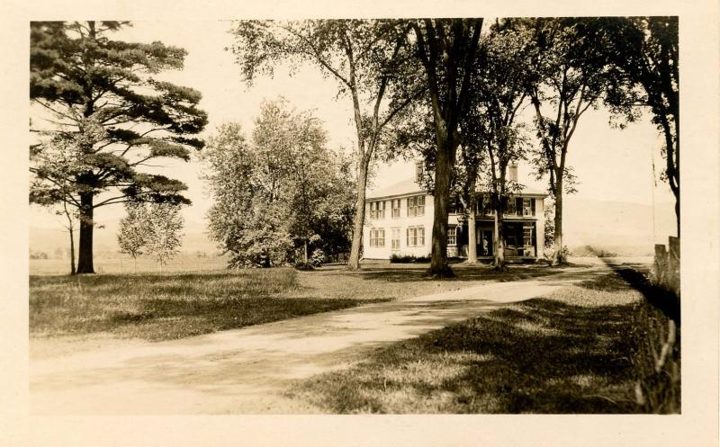 NH - Lancaster. Holton House after 1917.  *RPPC