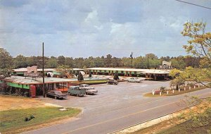 Monticello Florida Capri Motel Vintage Postcard AA23078