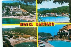 Old Vintage Postcards Hotel Cartago San Miguel Spain # 2186A