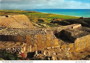 uk6848 ????? ancient theatre of curium limassol cyprus