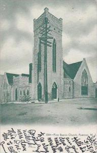 New Jersey Paterson First Baptist Church