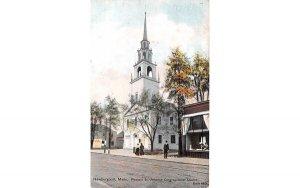 Pleasant St. Unitarian Congregational Church in Newburyport, Massachusetts