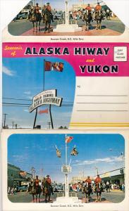 Souvenir Folder - 13 Views Of Alaska Hiway & Yukon, Canada, 1960-1970s