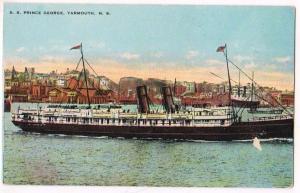 SS Prince George, Yarmouth NS