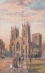 YORK , England , 00-10s ; York Minster ; TUCK 7787