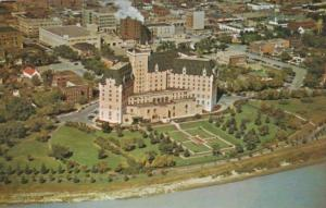 Canada Aerial View Of Bessborough Hotel Saskatoon Saskatchewan