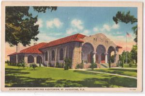 Civic Center, St Augustine FL