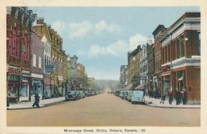Mississaga (Mississauga) Street at Orillia, Ontario, Canada - pm 1940