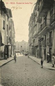 spain, REUS, Arrabal de Santa Ana (1920)