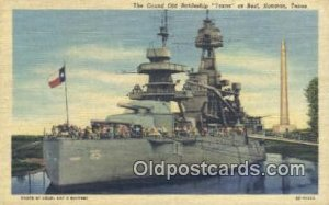 Texas, Veteran Of Two Wars, Houston, Texas, TX USA Military Battleship Unused