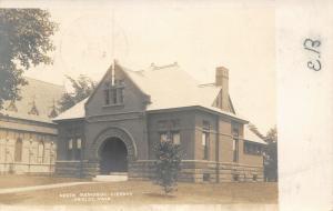 Shirley Massachusetts~Hazen Memorial Library~1906 Real Photo Postcard~RPPC
