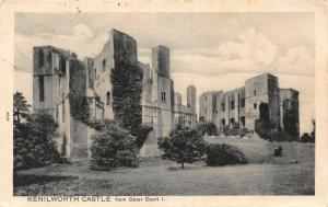 Kenilworth Castle from Outer Court I Postcard
