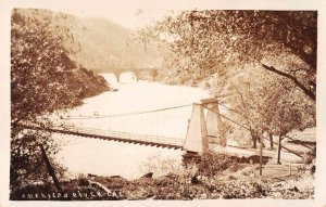 American River California Bridges Real Photo Vintage Postcard JF235019