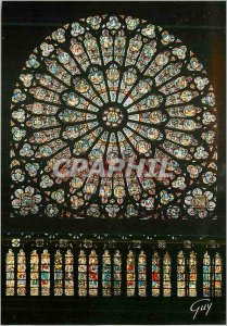 Postcard Modern Marvels Paris and La Cathedrale Notre Dame Rose North execute...