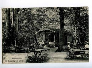 247946 GERMANY Neuenburg Waldschenke 1911 year RPPC ZETEL