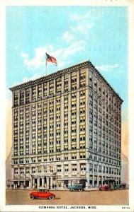 Mississippi Jackson Edwards Hotel 1927