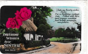 Post Card Greetings – Birthday Dear Sister