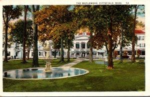 Massachusetts Pittsfield The Maplewood 1937 Curteich