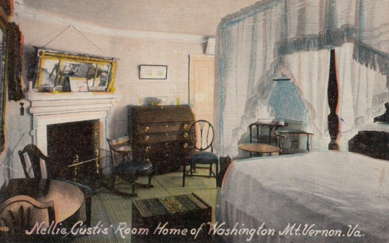 MT. VERNON, Virginia, 1900-10s; Nellie Custis' Room, Home of Washington