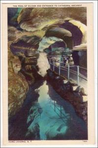 The Pool of Siloam, Howe Caverns NY