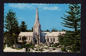 Bermuda St Pauls Church PAGET Postcard PC Carte Postale