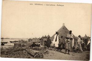 CPA Senegal-Rufisque-Les Lebous (235366)