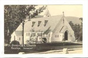 RP, St. Dominic's Church, Proctor, Vermont, 30-40s