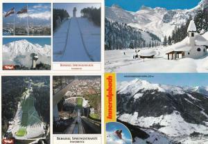 Innsbruck Bergisel Sprungschanze 4x Austria Skiing Postcard s