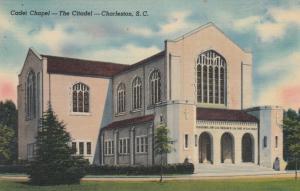 CHARLESTON, South Carolina, 30-40s; Cadet Chapel - The Citadel