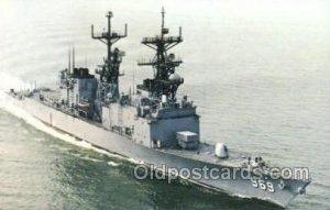 USS Peterson Military Ship Unused