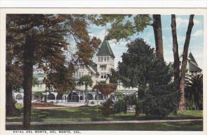 Hotel Del Monte Del Monte California