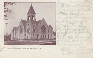 MOUNT VERNON , Iowa , PU-1906 ; M. E. Church