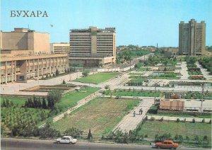 Post card Uzbekistan Bukhara city center image